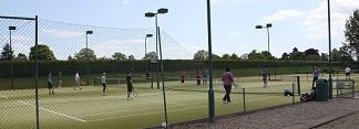 KTSCC tennis courts