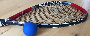 Racketball and ball